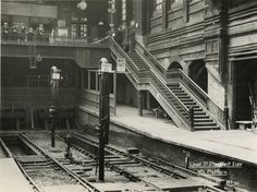 Liverpool Street station, Great Eastern Railway, 13 July 1920 - Photos - Our collection - National Railway Museum Station To Station, Old Train Station, Train Stations, Vintage London, Old London, London Overground, East End London, National Railway Museum, Liverpool Street