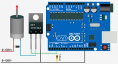 Good diagram of Arduino (or a Raspberry Pi) linked to a solenoid (or electric strike plate) via a MOSFET, with tutorial.