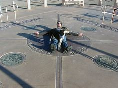 Pose for a photo at Four Corners Monument, where Colorado, New Mexico, Arizona, and Utah meet.  http://navajonationparks.org/htm/fourcorners.htm