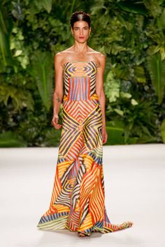 Naeem Khan Spring 2014 Ready-to-Wear Runway - Naeem Khan Ready-to-Wear Collection