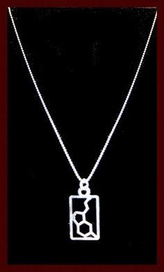 Serotonin Molecular Structure Necklace by Anatomology on Etsy, $22.00