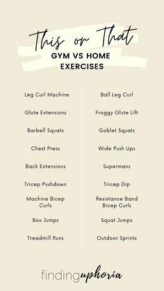 Lifting Workouts, Gym Workouts, Training Exercises, Workout Exercises, Workout Routines, Ab Workout At Home, At Home Workouts, Fitness Workout For Women