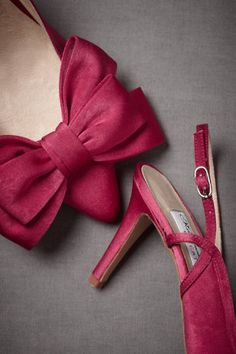 @Kelsey Motes-Conners Barring fit issues, these are the shoes. Just ordered them. :)  Superfluity Slingbacks in SHOP Shoes & Accessories Shoes at BHLDN