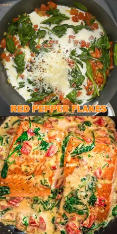 recipes videos This Salmon in Roasted Pepper Sauce makes an absolutely scrumptious meal, worthy of a special occasion. Make this easy one [Video] in 2019 Food, Seafood recipes, Baked salmon recipes Healthy Salmon Recipes, Seafood Recipes, Beef Recipes, Vegetarian Recipes, Dinner Recipes, Cooking Recipes, Best Salmon Recipe Baked, Savory Salmon Recipe, Wild Salmon Recipe