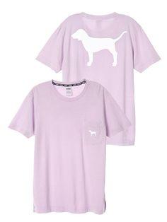 Campus Short Sleeve Tee - PINK - Victoria's Secret