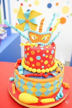 bolo festa a fantasia infantil - Pesquisa Google