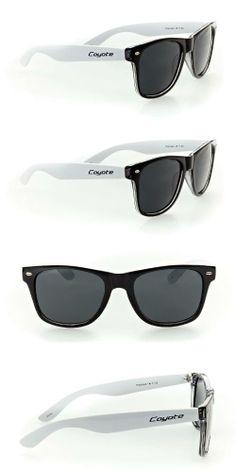 b06ea78570 Coyote P23 Designer Wayfarer Sunglasses with Polarized Lenses and Dark Tint  for Modern
