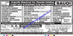 Connecting People: Urgently Required for Rawabi HOlding Saudi