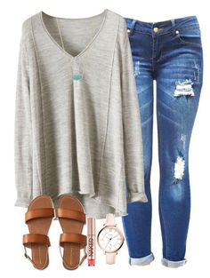 """""""bad days :(("""" by lydiamorrison ❤ liked on Polyvore featuring FOSSIL, Urban Decay, Aéropostale and Kendra Scott"""