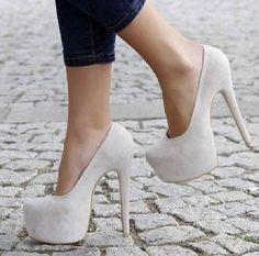 White heels  High heels