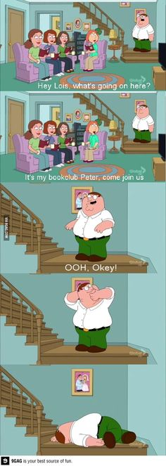 9GAG - Peter Griffin, the master