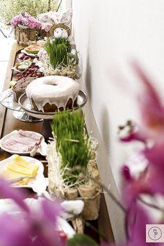 Café da manhã para comemorar a Páscoa em família!