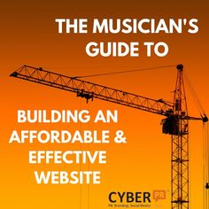 THE MUSICIAN'S GUIDE TO WEBSITES - A lot of musicians find the idea of building a website daunting. It sounds difficult, it sounds expensive, is it really necessary?  In a word, yes. While a huge amount of business and growth takes place on social media, if you don't have a nice website to point to, you're going to have a hard time