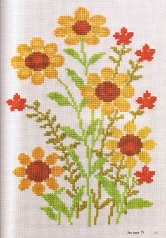 1975 OOP Ondori Cross Stitch Design Rare by CowichanValley on Etsy Easy Cross Stitch Patterns, Simple Cross Stitch, Cross Stitch Rose, Cross Stitch Flowers, Cross Stitch Designs, Cross Stitching, Cross Stitch Embroidery, Vintage Cross Stitches, Cross Stitch Pictures