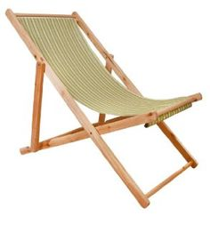 Sling Deck Chair Perfect For The Beach Backyard Picnic And More Camping