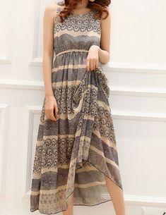 Floral Vest Dress on Luulla