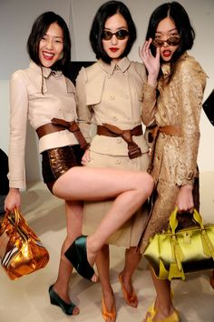 #backstage at Burberry Prorsum Spring 2013 #ss13 #lfw