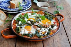Mixed Bean Shakshuka for Meat Free Monday - Lavender and Lovage Gourmet Recipes, Diet Recipes, Healthy Recipes, Vegetarian Recipes, Mixed Bean Recipes, Chicken Slices, Leek Soup, Winter Soups, Meal Planner