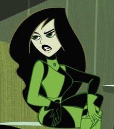 Cartoon Quotes, Cartoon Icons, Girl Cartoon, Halloween 20, Halloween Inspo, Disney Colors, Disney Theme, Kim And Shego, Kim Possible Costume