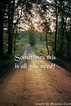 country back road . amazing how healing nature can be. how healing a change of scenery can be Way Of Life, The Life, Vie Simple, Cycling Quotes, Life Quotes Love, Quote Life, On The Road Again, Country Quotes, Farm Quotes