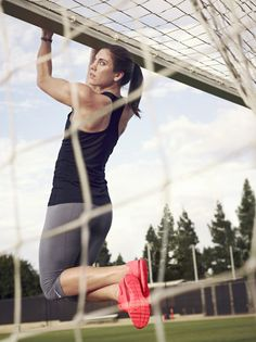 i have those shoes!! and i looove Hope Solo!