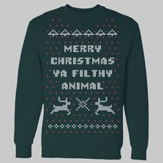 Home Alone Christmas Sweater Crewneck Sweatshirt. $39.99, via Etsy. If someone gets me this for Christmas I will love you forever.