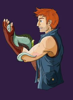 Charlie weasley and his dragons