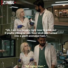 "#iZombie 1x03 ""The Exterminator"" - Liv and Ravi"