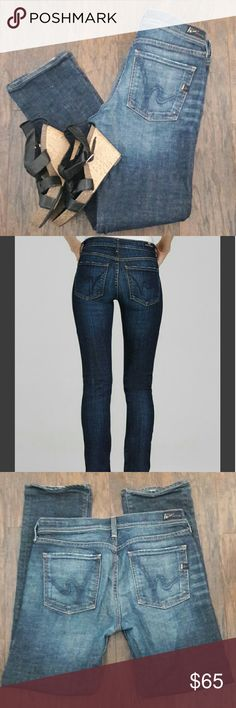 ☈sale☇COH jeans 30X30 Elson stretch Waist 30 Inseam 30 Like new, high rise straight Citizens of Humanity Jeans Straight Leg