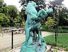 Le Dénicheur d'Oursons (1885), jardin des Plantes