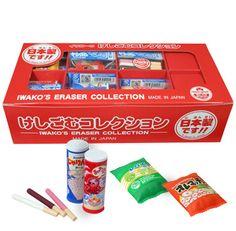 Iwako Eraser Chocky Collection 60 Pieces