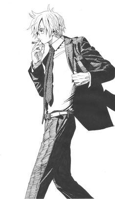 Sanji by Dalia Zoro Nami, Sanji Vinsmoke, Manga Anime One Piece, Sanji One Piece, One Piece Drawing, Pieces Men, One Piece World, 0ne Piece, Nico Robin