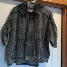 Element sweatshirt grey zippered hoody size small Element grey zippered hoody, size small. Women's element Jackets & Coats