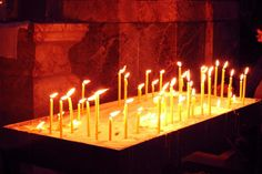 Wien #church #Wien #candles #christmas2014