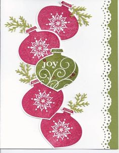 2011 Christmas card by Suzette Marie - Cards and Paper Crafts at Splitcoaststampers