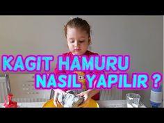 Kağıt hamuru yapımı - YouTube