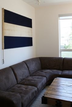 DIY sweetness - Framing an old flag