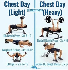 7 Best Chest Exercises images in 2018