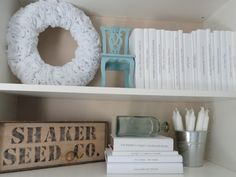 DIY book covers to make a really neat looking bookcase