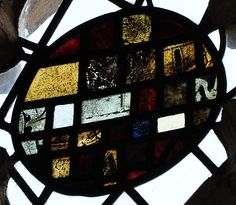 South Newington- Stained glass 158