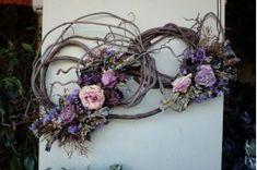 Funeral Composition Grapevine Wreath, Funeral, Grape Vines, Composition, Floral Wreath, Wreaths, Image, Home Decor, Homemade Home Decor