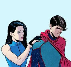 I like to write think they're best friends, anyone else. Marvel Fan, Marvel Heroes, Marvel Comics, Young Avengers, New Avengers, Kate Bishop Hawkeye, Alone Movies, Marvel Wallpaper, Image Comics