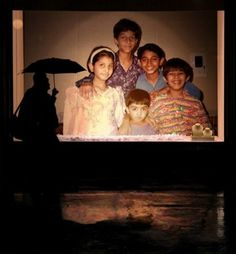 Barun childhood pic