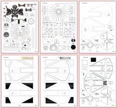 #36 「TIE interceptor 」ペーパークラフ by Uhu02