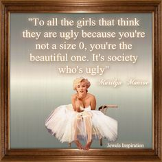 Marilyn Monroe Quote | Jewels Art Creation