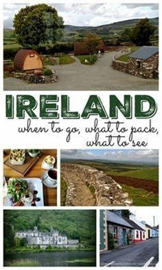 Ahh, Ireland. Just saying it to myself has me thinking of the melodious singing of the Celtic Woman group, and the sexy brogue of Matthew Goode in Leap Year. I'll also make sure to wear green tomorrow…MoreMore  #TravelTipsIdeas