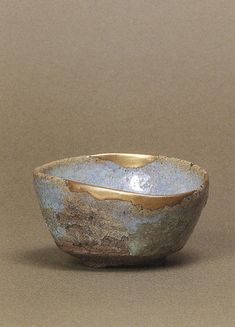 I would like my house to be like this cup. Madara (spotted) Karatsu Sake Cup, Momoyama Period