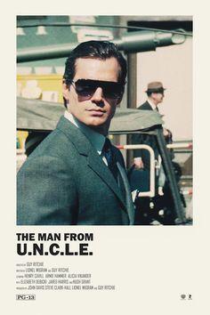 The Man from U.N.C.L.E alternative movie poster