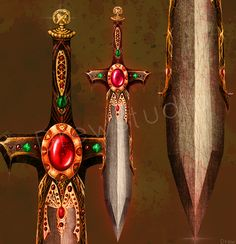 Legendary Sword by =Drewstudio on deviantART
