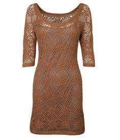 Suknia szydełkowa